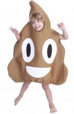 Kids Poo Emoji Costume