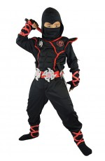 Black Ninja Boys Jumpsuit