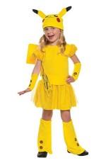 Girls Pikachu Pokemon Costume