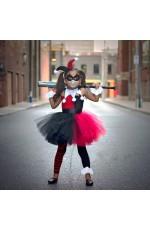Girls Halloween Joker Costume Dress