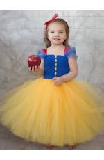 Girls Princess Snow White Costume