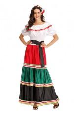 Ladies Mexico Spanish Costume