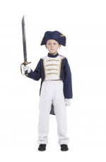 Boys British Redcoat Pirate Costume Outfit