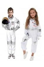 Astronaut Space NASA Suit Uniform Child Kids Boys Girls Book Week Costume