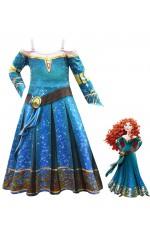 Brave Merida Classic Costume Girls
