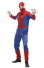 Spiderman Costumes - Mens Spider-Man Super Hero Fancy Dress Costume