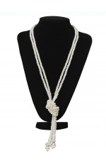 1920s Vintage Necklace Great Gatsby Flapper Costume Accessories gangster ladies