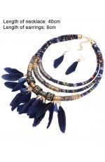 Tribal Jewellery Necklace Earrings