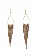 Vintage Bohemian tassels earrings accessory lx0209