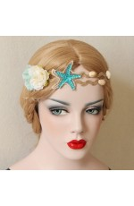 Mermaid Crown Seashell Headpiece