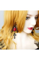 Dracula Gothic Punk Earrings