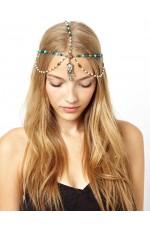 Deco Vintage Hairband Chain Headband