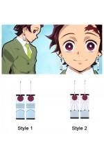 Demon Slayer Tanjiro kamado earrings