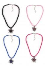Edelweiss Flower Oktoberfest Necklace