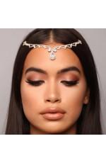 bohemian head chain wedding hair Accessories