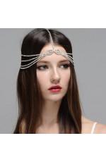 bohemian wedding hair chain Jewelry