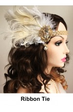 20s Feather Hair Accessories
