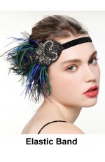 20s Great Gatsby Headpiece Costume Accessories