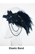 Ladies1920s Art Deco Flapper Headband lx0269