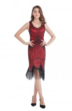 1920s Vintage Great Gatsby Charleston 20s Flapper Fancy Dress gangster ladies