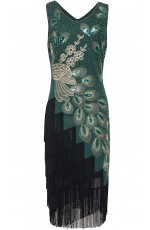 1920 gatsby flapper dress
