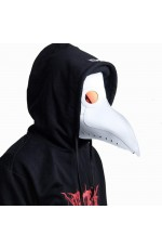 White Plague Doctor Mask
