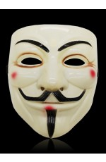 yellow V For Vendetta Mask lx2025-4