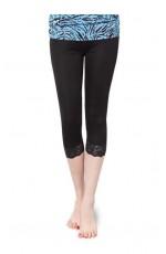 Black 80s leggings