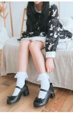 White Lolita Socks