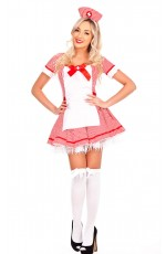 Ladies Nurse Fancy Dress Costume