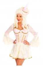 Ladies Marie Antoinette Medieval Fancy Dress