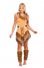 Indian Wild West Fancy Dress Costume