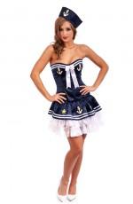Sailor Fancy Dress Costume