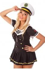 Sailor Girl Fancy Dress Costume