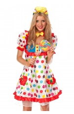 Clown Cosplay Anime Circus Jester Costume