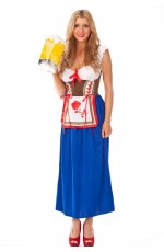 Octoberfest German Beer Maid Costume