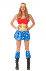 Ladies Wonder Woman Super Hero Costume