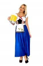 Oktoberfest German Beer Maid Costume
