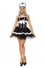 French Maid Costumes LZ-84777_1