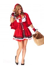 Halloween Red Riding Hood Fancy Dress Costume
