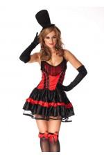 Western Saloon Burlesque Costume