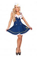 Navy Sailor Pin Up Uniform Costume