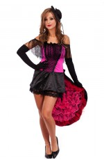 Can Can burlesque saloon costume