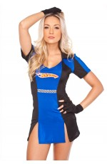 Miss Racer Racing Sport Driver Costume