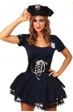 Adult Police Uniform Costume