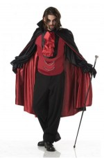 Devil Costumes - Halloween Vampire Mens Costume