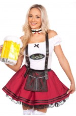 Oktoberfest Beer Maid Costume