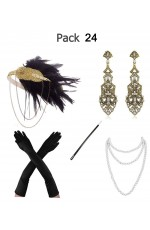 5pcs Roaring 1920s Accessories Set