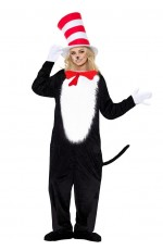 LADIES CAT IN THE HAT COSTUME pp1002