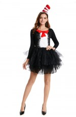 Ladies DR SEUSS CAT IN THE HAT COSTUME
